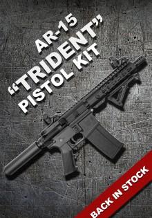 AR-15 TRIDENT Pistol Kit