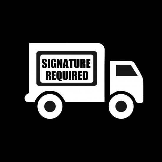 [Optional] Signature Required