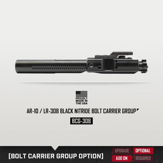 AR-10 / LR-308 13.5'' Barrel 12'' M-LOK Handguard | Pistol Upper Build UPK53 [ASSEMBLED]