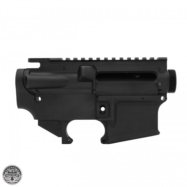 AR-15 Mil-Spec Upper Receiver Stripped And AR-15 80 Percent Lower Receiver