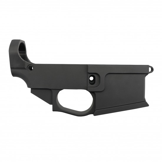 AR-15 80% Billet Lower with Hexmag Series II True 10 Rounds -Color Option
