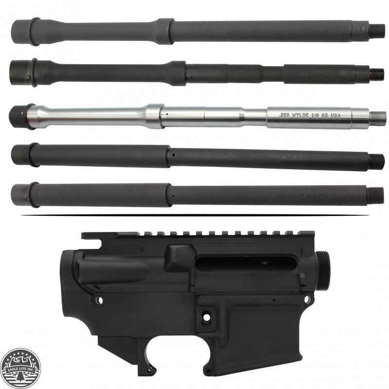 AR-15 Upper Receiver - 80 Percent Lower Receiver W/ Barrel
