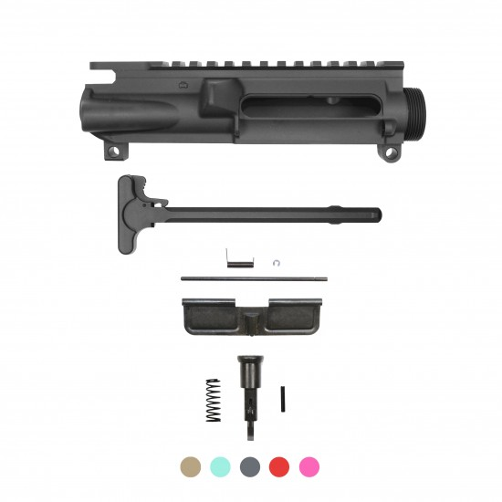 AR-15 Upper Receiver, Charging Handle, Dust Cover and Forward Assist [Cerakote Color Option]
