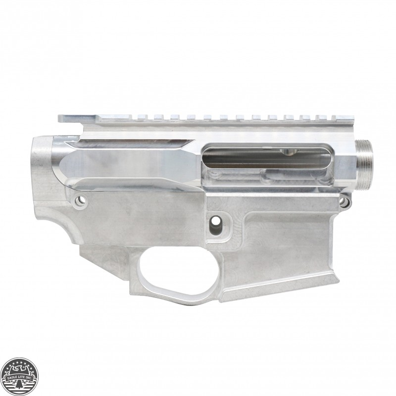 AR-15 Raw Billet Upper Receiver And 80% Billet Lower | Made In U S A