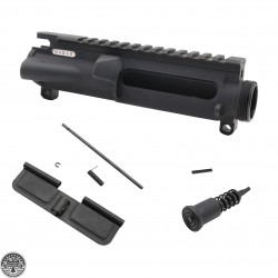 AR-15 Mil-Spec Upper Receiver -Dry Film Lube W/ Dust Cover - Forward Assist