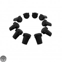 AR Accu Wedge Buffer Strong Anti-Wobble Upper/Lower Receiver Tightener 223-Black(Set Of Ten)