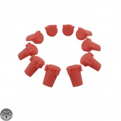 AR Accu Wedge Buffer Strong Anti-Wobble Upper/Lower Receiver Tightener 223-Red(Set Of 10)