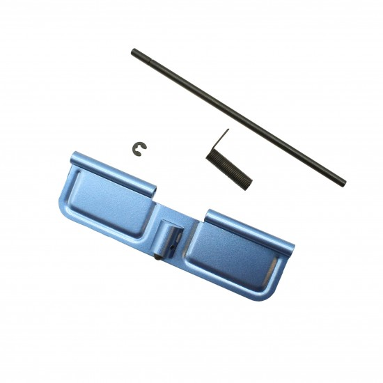 AR-15 .223 5.56 Ejection Port Cover and Forward Assist Bundle - Blue