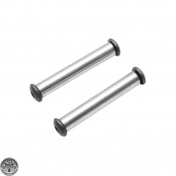 AR Platform Anti-Walk Pins - Stainless Steel Rod With Black Oxide Screws