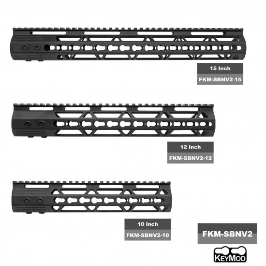 """AR-15 .223/5.56 16"""" Barrel W/ 10'' 12"""" 15'' Handguard option   ''ENFORCER'' Carbine Kit"""