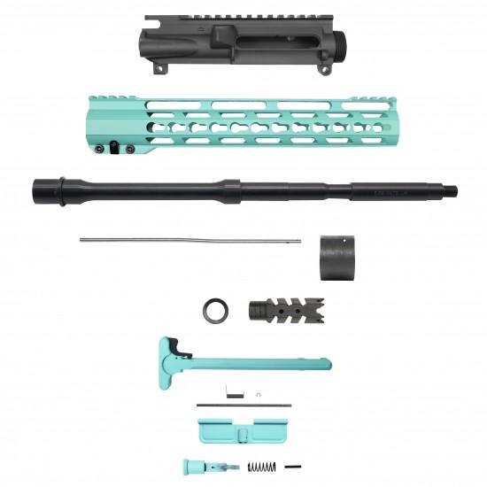 "AR-15 5.56 16"" Barrel 12"" Keymod Handguard   ''PRISM CERAKOTE'' Carbine Kit"