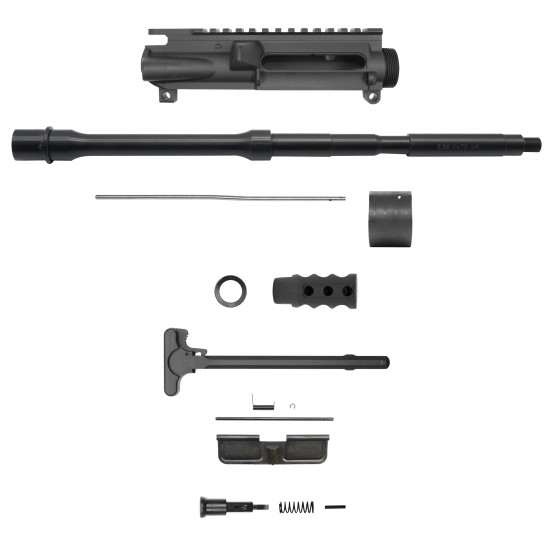 "AR-15 .223/5.56 16"" Barrel W/ 10"" 12'' 15'' Handguard option   ''REACTION'' Carbine Kit"