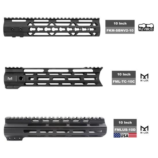 "AR-15 5.56 10.5"" Barrel W/ 10"" Handguard option | ''SALVO'' Pistol Kit"