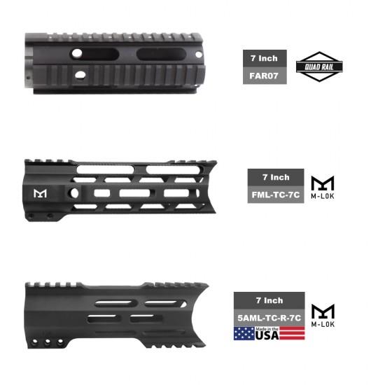 "AR-15 .223/5.56 7.5"" Barrel W/ 7"" Handguard option | ''STANDARD'' Pistol Kit"
