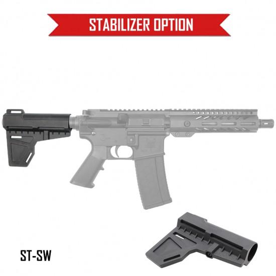 "AR-15 .223 7.5"" Barrel 7"" M-Lok Handguard | ''STANDARD'' Pistol Kit"