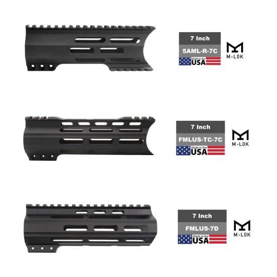 "AR-15 .223/5.56 7.5"" Barrel 7"" Handguard Option | ''STARS AND STRIPES'' Pistol Kit"