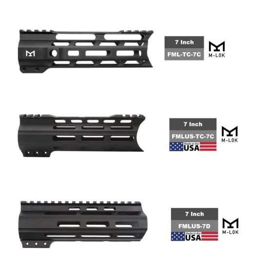 "AR-15 .223/5.56 7.5"" Barrel 7"" Handguard Option | ''TRIDENT'' Pistol Kit"