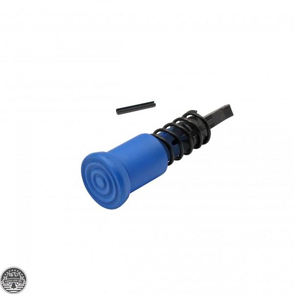 Cerakote NRA BLUE | AR-15 Forward Assist Complete Mil Spec Assembly