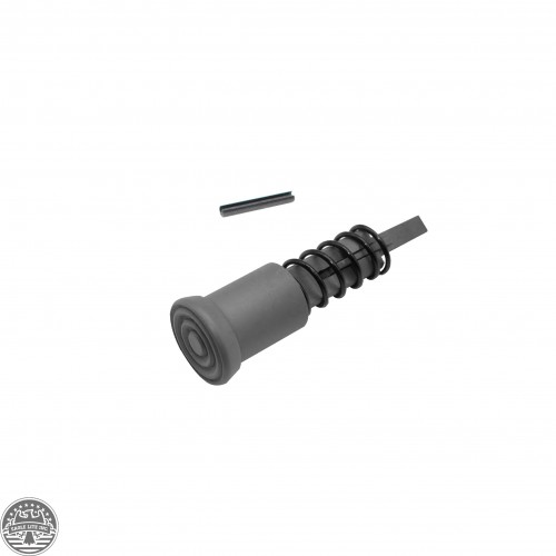 AR-15 Cerakote Sniper Gray -Forward Assist Complete Mil Spec Assembly