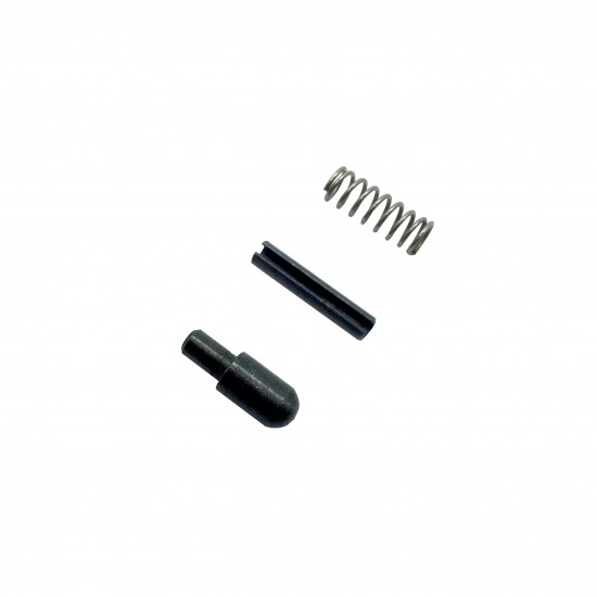 Spring, Roll-pin & Plunger For Bolt Catch