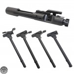 AR-15 .223/5.56 Bolt Carrier Group- Black Nitride -With Charging Handle Option