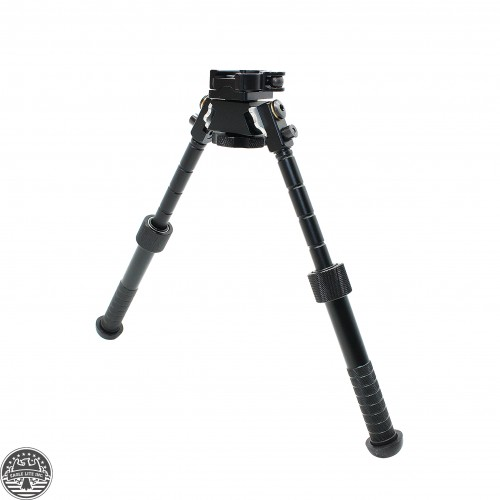 Premium Aluminium 7-9.5 inch Adjustable Bipod w Quick Disconnect Mount