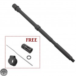 "AR-15 Bundle |BCA 16"" Nato Rifle Barrel (FREE: Muzzle Brake, Gas Block and Gas Tube)"