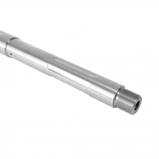 """AR-10 18"""" Rifle Length """"Fluted"""" Barrel   1:10 Twist   Stainless Steel   Made in USA"""