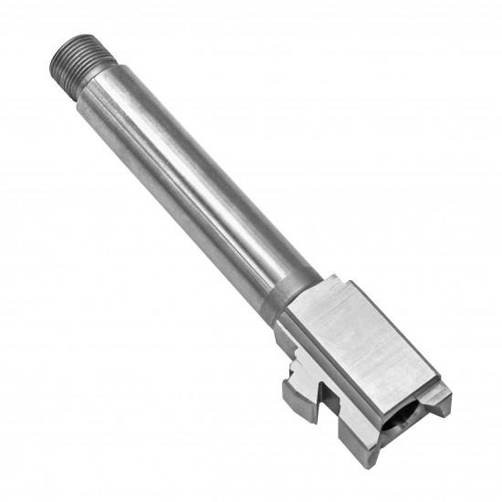 "Glock 19 Stainless Steel 9mm ""Threaded"" Barrel"