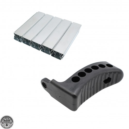 "1"" Rubber Recoil Butt Pad + STRIPPER CLIPS"