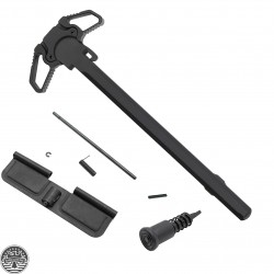 AR-15 Dual Ambidextrous Charging Handle w/ Steel Latch -Dust Cover And Forward Assist