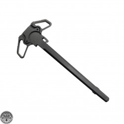 AR-15 Ambidextrous Charging Handle With Steel Latch