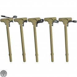 Cerakote Eagle Lite Green   AR-15 Tactical Rifle Charging Handle w/ Latch Option