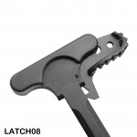 AR-15 - Tactical Rifle Charging Handle With Latch Option Black