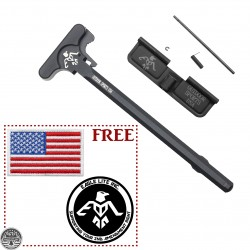 AR-15 ODS Charging Handle and Dust Cover + Free Gift (US Patch and Sticker)