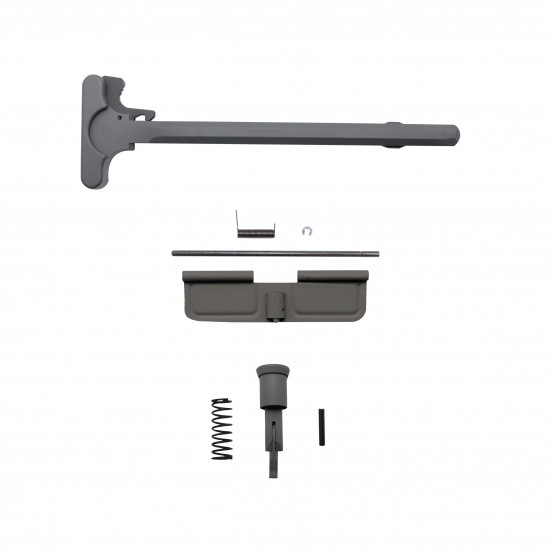 Cerakote Sniper Gray | AR-15 Charging Handle, Dust Cover and Forward Assist -Bundle