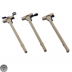 Cerakote FDE | AR-15 -Tactical Rifle Charging Handle Assembly