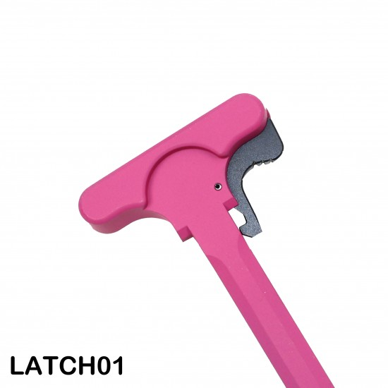 Cerakote Pink | AR-15 Tactical Rifle Charging Handle Assembly
