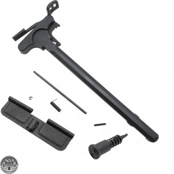 AR-15 .223 5.56 Upper Parts Kit Oversized Charging Handle Ejection Port Door Forward Assist