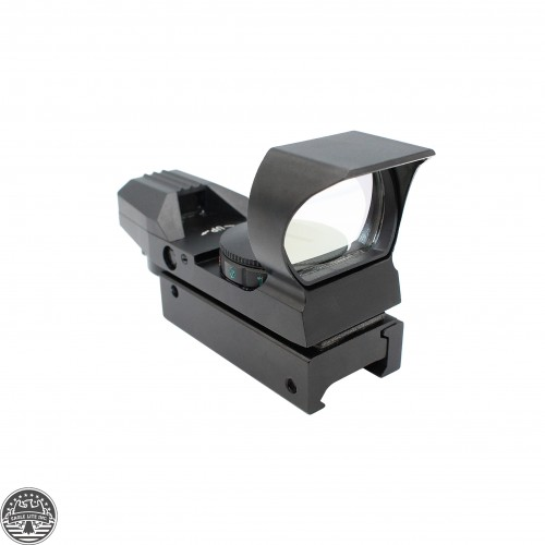 AR15 4 Reticle Tactical Red&Green Illuminated Dot Sight W/ sunshade