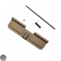 Cerakote Burnt Bronze | AR-15 Ejection Port Door Cover | Dust Cover Assembly