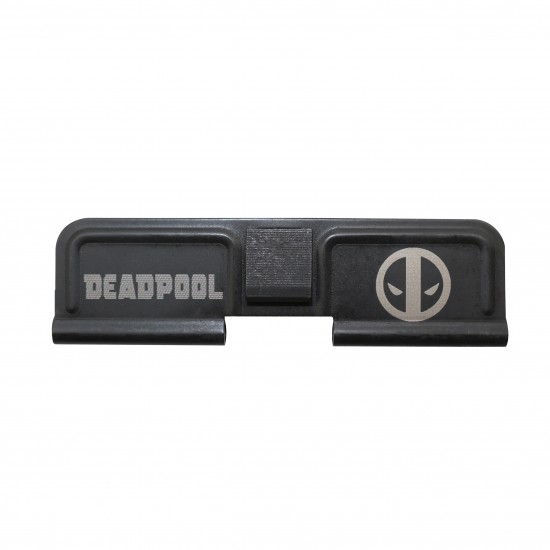 AR-15 Ejection Port Cover | Dust Cover Assembly- Deadpool Laser Etched