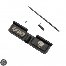 AR-15 Ejection Port Cover | Dust Cover - Punisher |U1|