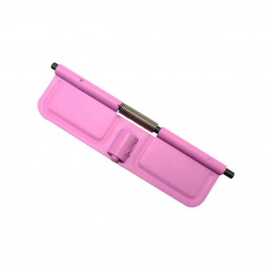 Pink   AR 15 .223 Ejection Port Cover   Dust Cover Super Easy Install