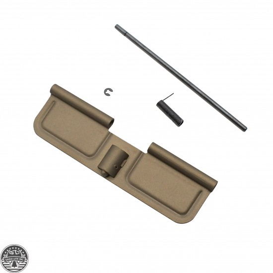 AR-15 Ejection Port Door Cover   Dust Cover Assembly - Coyote Desert
