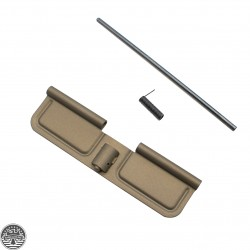 AR-10 .308 Ejection Port Door Cover | Dust Cover  Assembly - FDE - Anodized