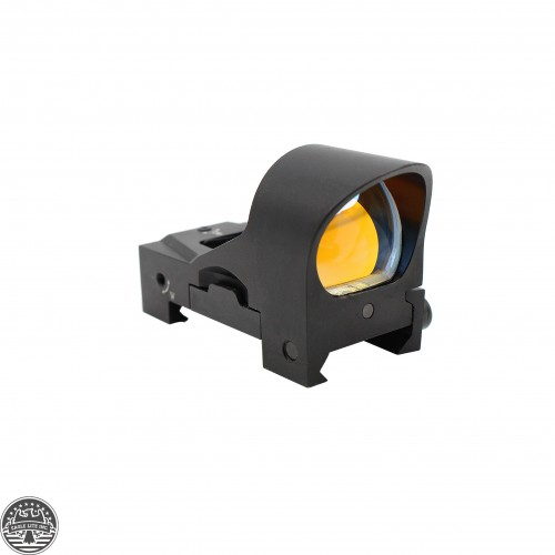 Mini 1x22 Red Dot Reticle Reflex Sight - Sleek Minimal Design w/ Sunshade