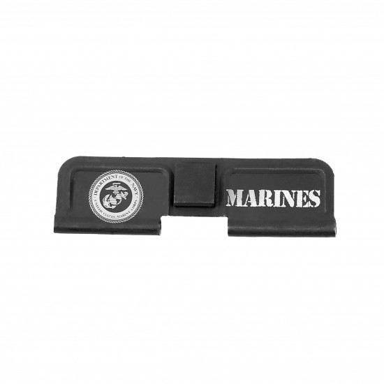 AR-15 Ejection Port Dust Cover Engraving - MARINES