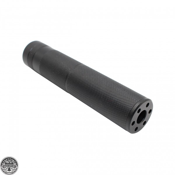 AR-15 1/2x28 Threaded .223 5.56 Thread-On Fake Can Muzzle Brake