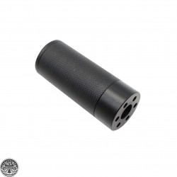 "AR-15 .223 Thread 3"" Muzzle Brake Fake Can Mock"
